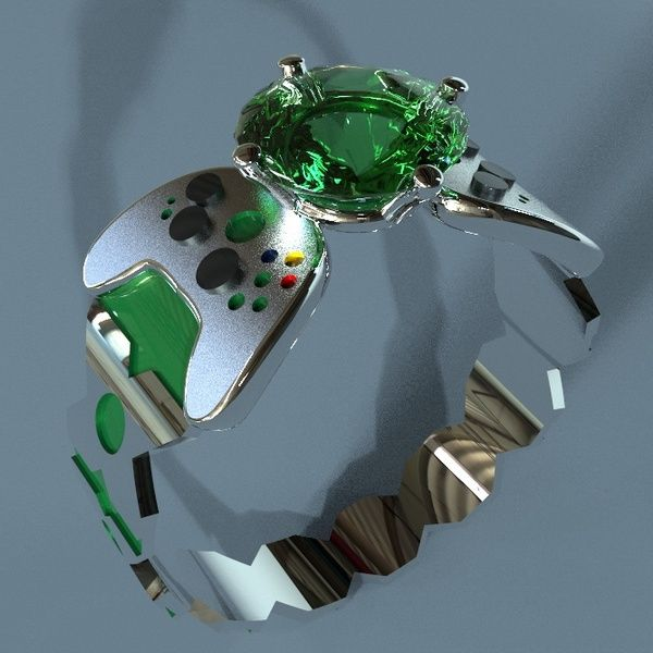 X-Box Engagement Ring