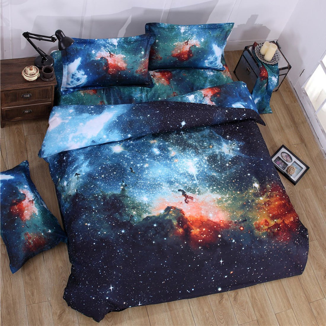 Galaxy Aurora Bedding
