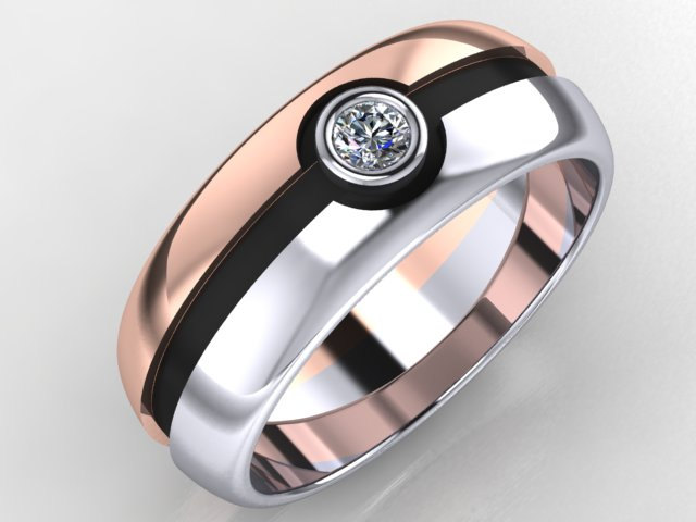 round rings tungsten young ring be write customized from anime gold product naruto new sector can wedding decoration sets eyes jewellers love lettering