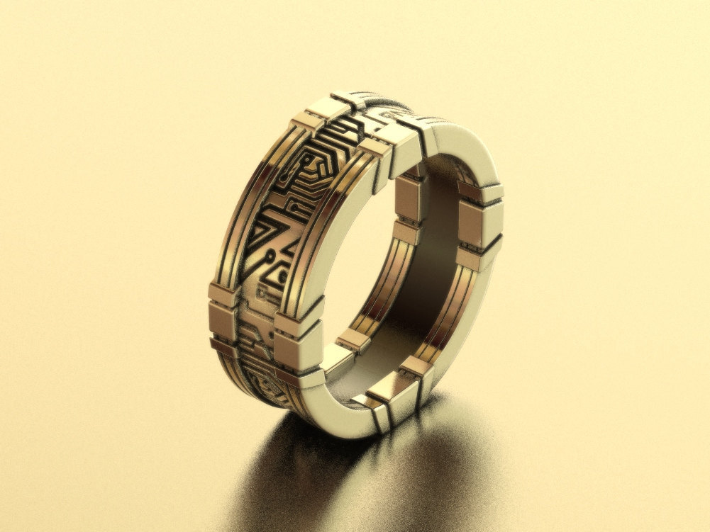 Blade Runner Wedding Ring