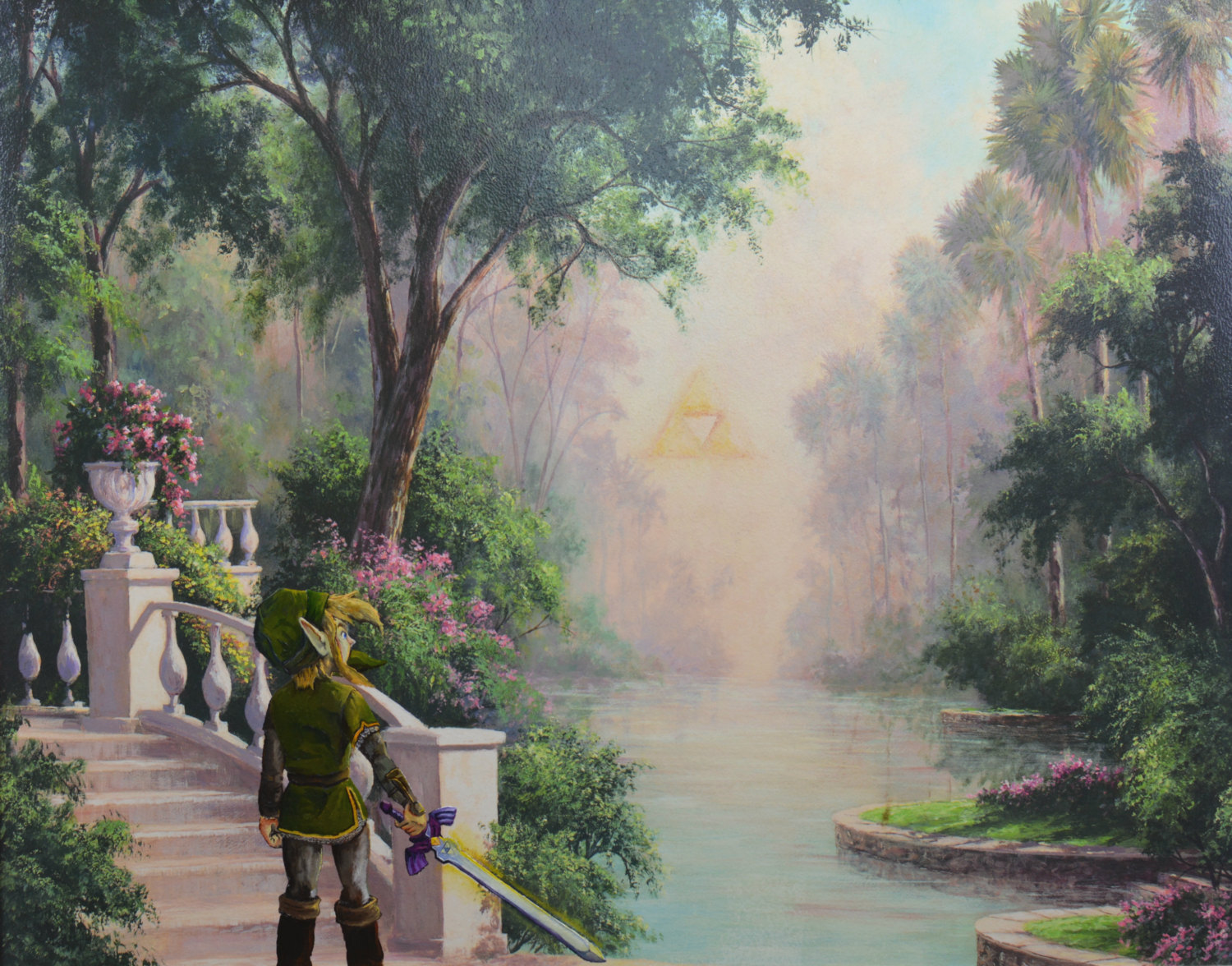 Legend of Zelda Painting