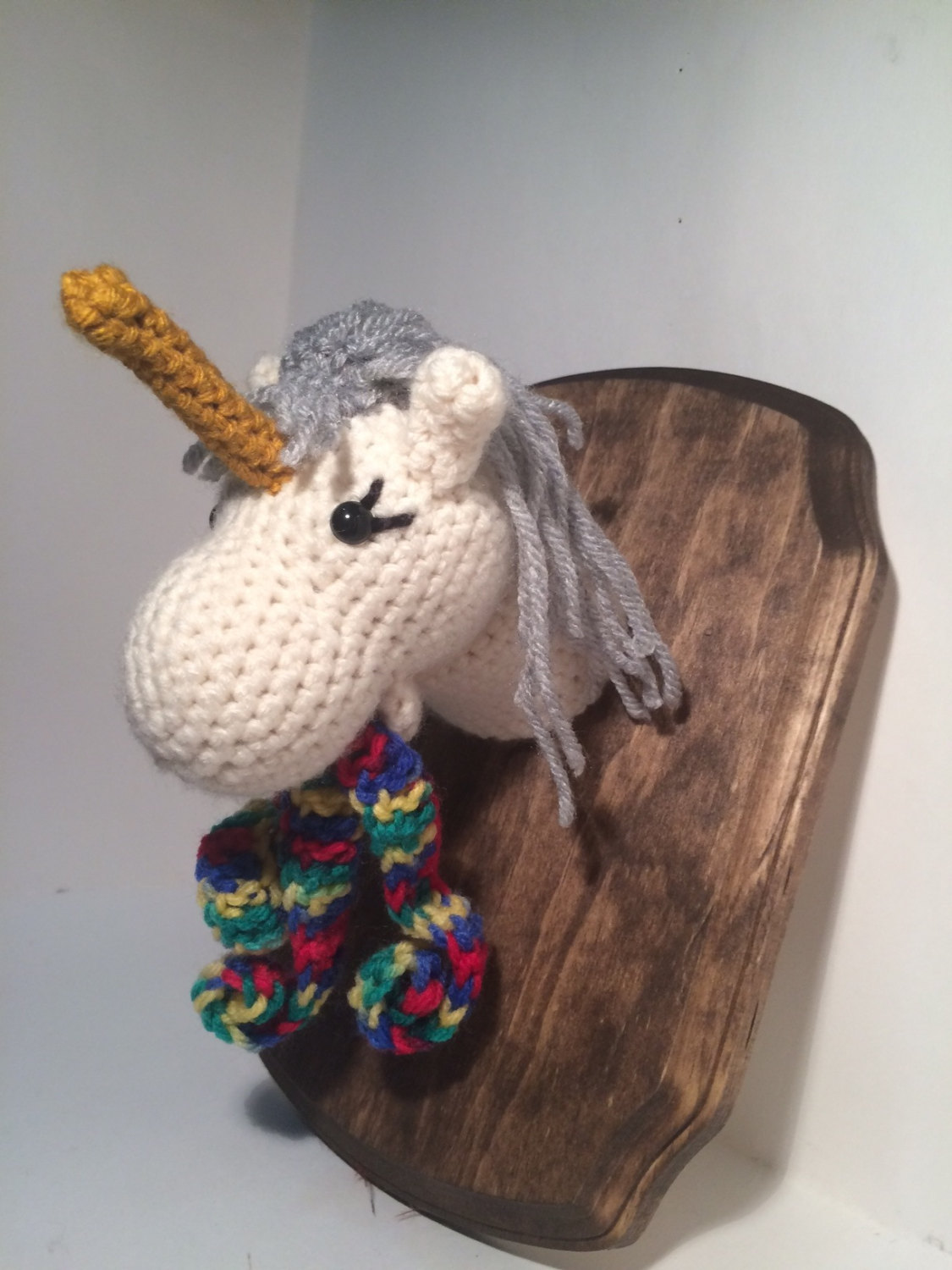Crochet Unicorn Decoration