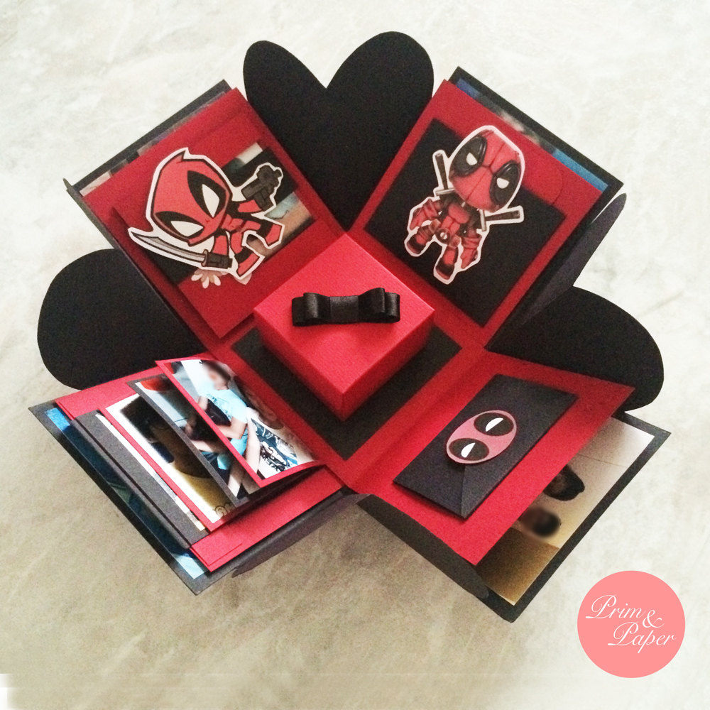 Deadpool Gifts in a Box