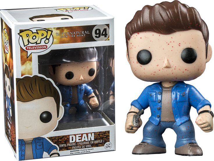 Blood Spatter Dean Exclusive Supernatural Funko Pop