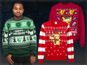 Pokemon Christmas Sweater Feature Image