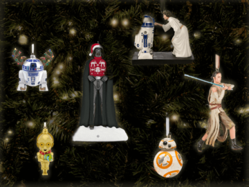 Star Wars Ornaments Feature Image
