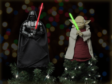 Star Wars Tree Topper Feature Image