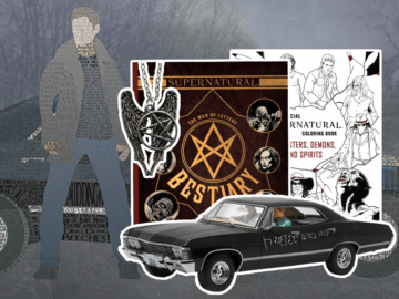 Supernatural Merchandise Feature Image