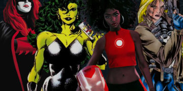 Superheroes and Their Female Superheroes Feature Image
